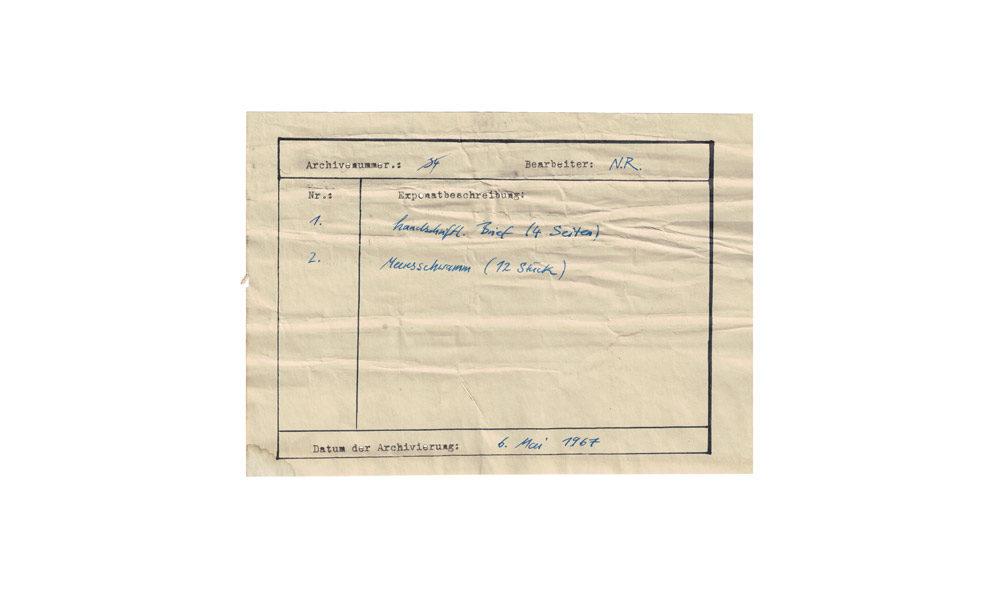 Archivkarte